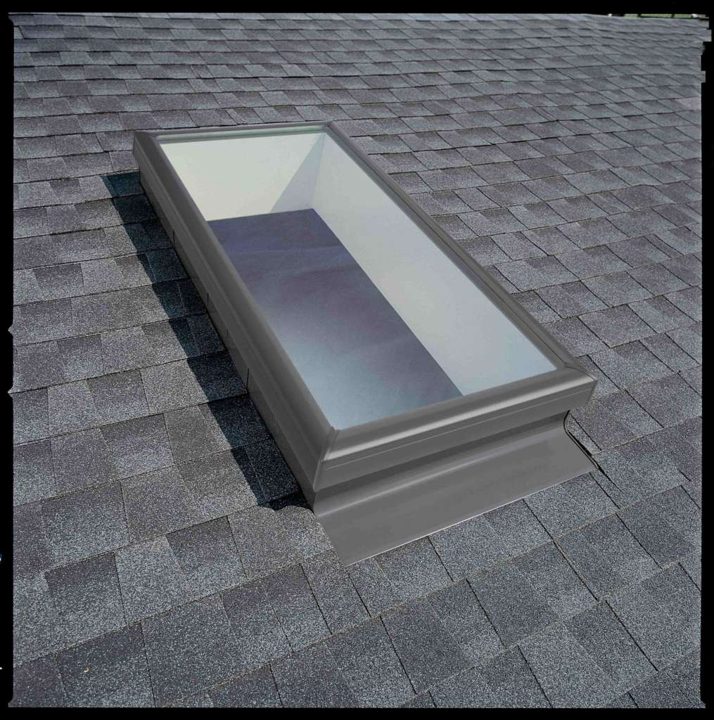 Fixed Skylight on Shingle Roof LR